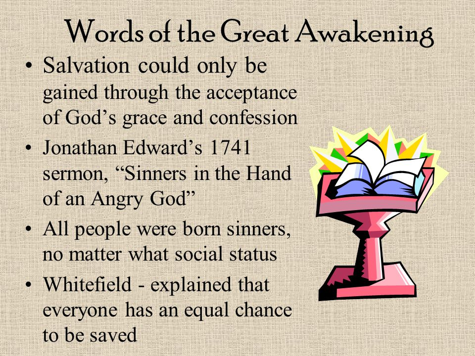 Words of the Great Awakening