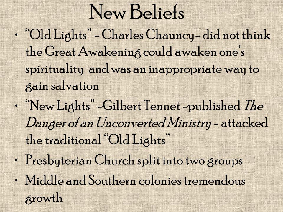 New Beliefs