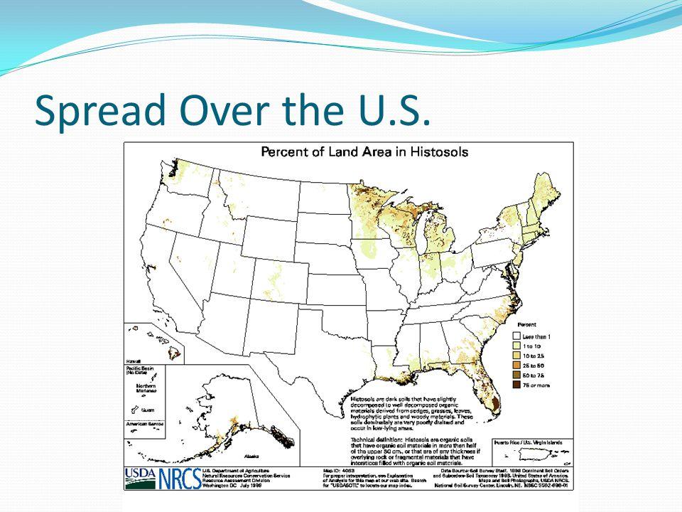 Spread Over the U.S.