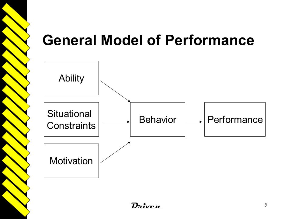 General Model of Performance
