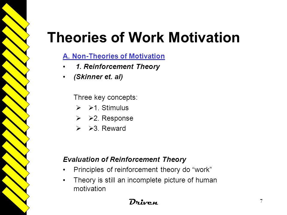 Theories of Work Motivation