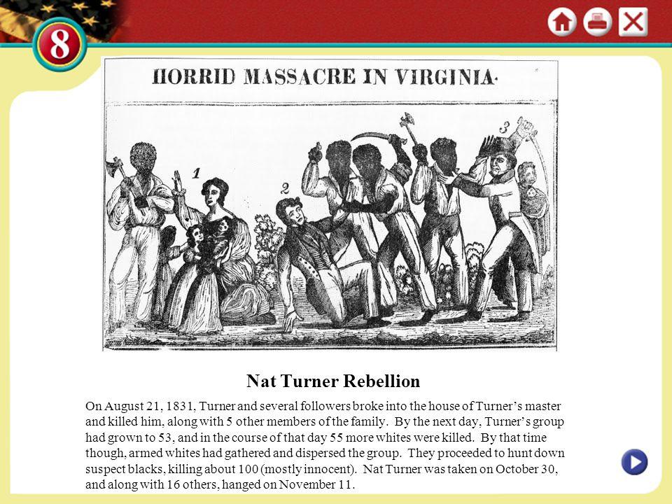 Nat Turner Rebellion