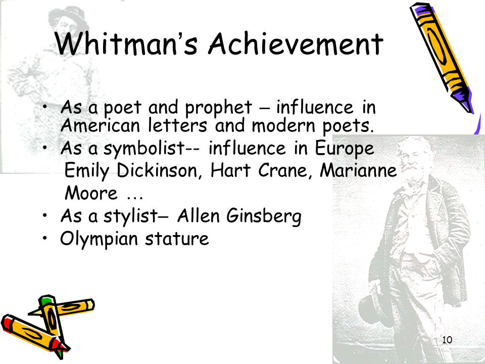 Whitman's Achievement