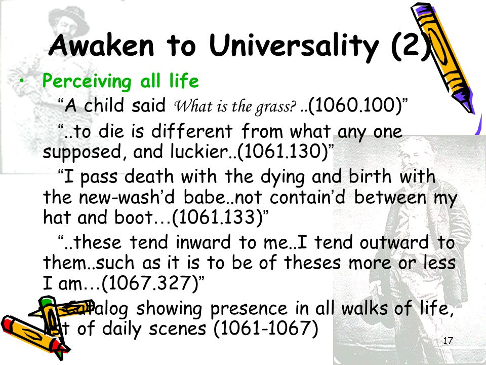 Awaken to Universality (2)