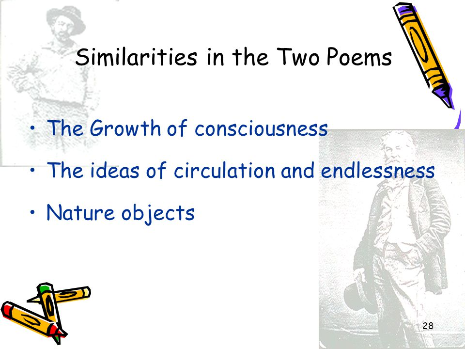 Similarities in the Two Poems