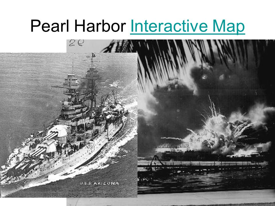Pearl Harbor Interactive Map