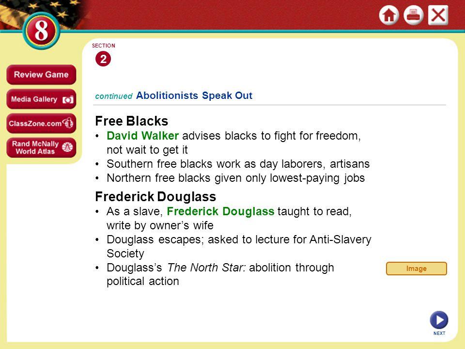 Free Blacks Frederick Douglass 2