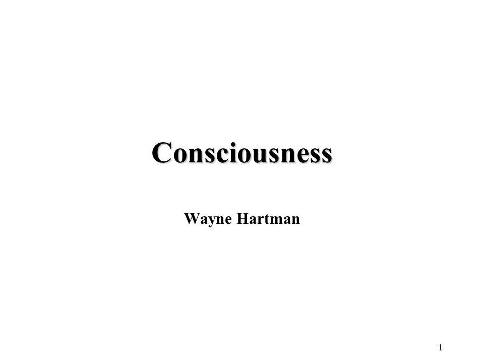 Consciousness Wayne Hartman