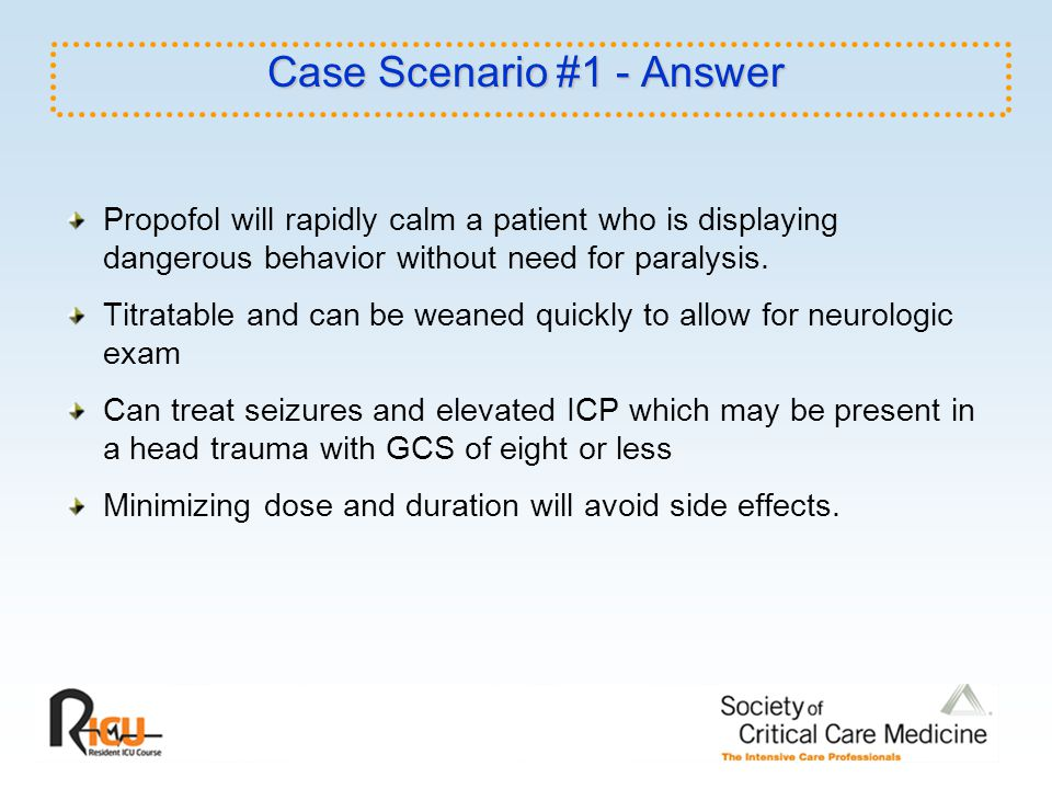 Case Scenario #1 - Answer
