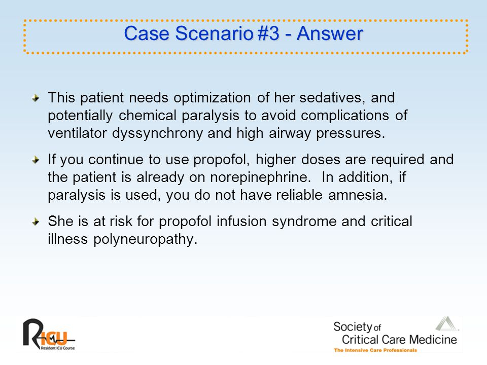Case Scenario #3 - Answer