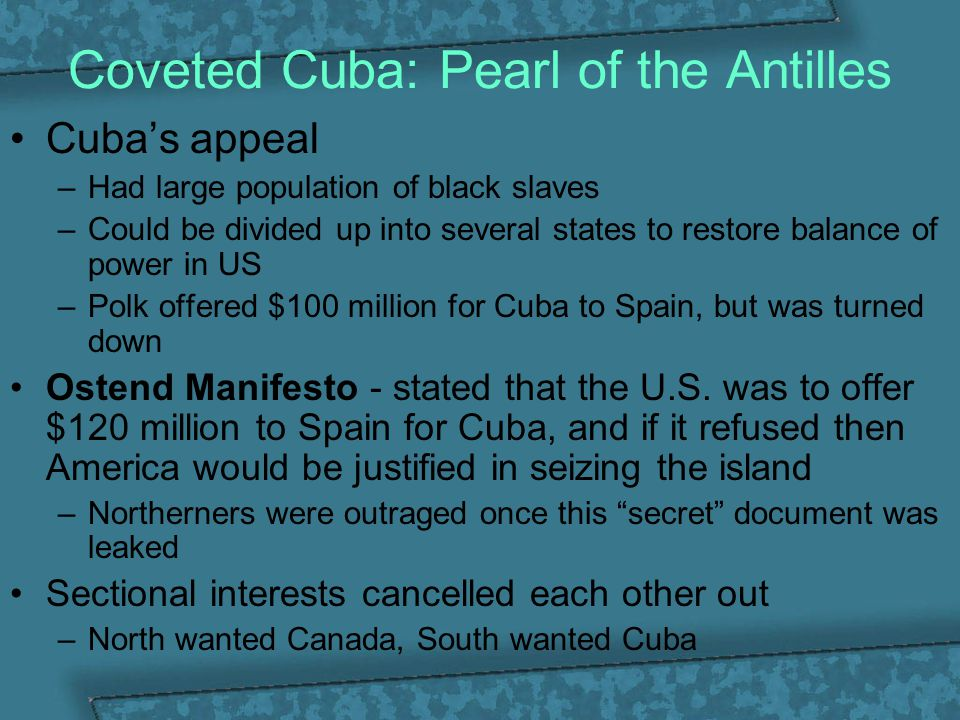 Coveted Cuba: Pearl of the Antilles