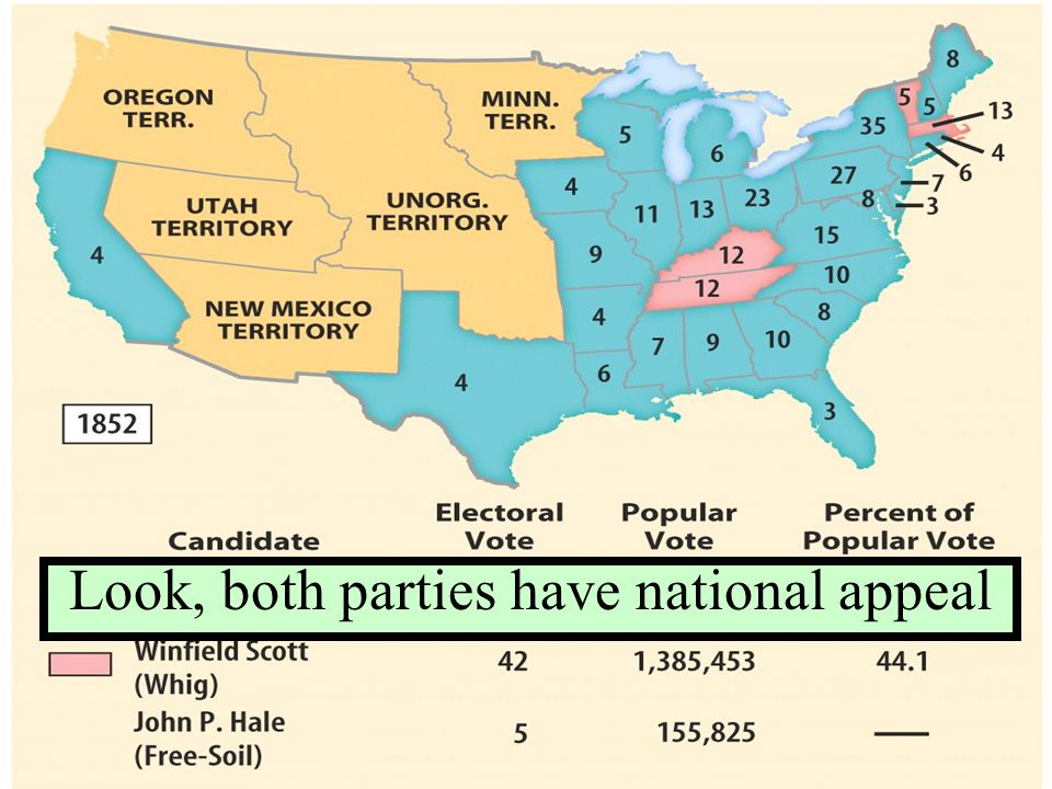 Look, both parties have national appeal