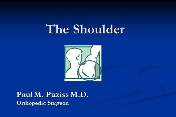 Paul M. Puziss M.D. Orthopedic Surgeon