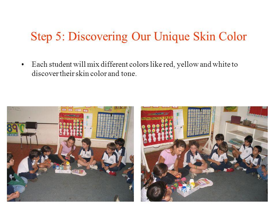 Step 5: Discovering Our Unique Skin Color