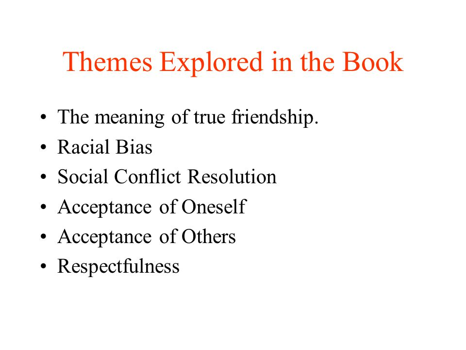 Themes Explored in the Book