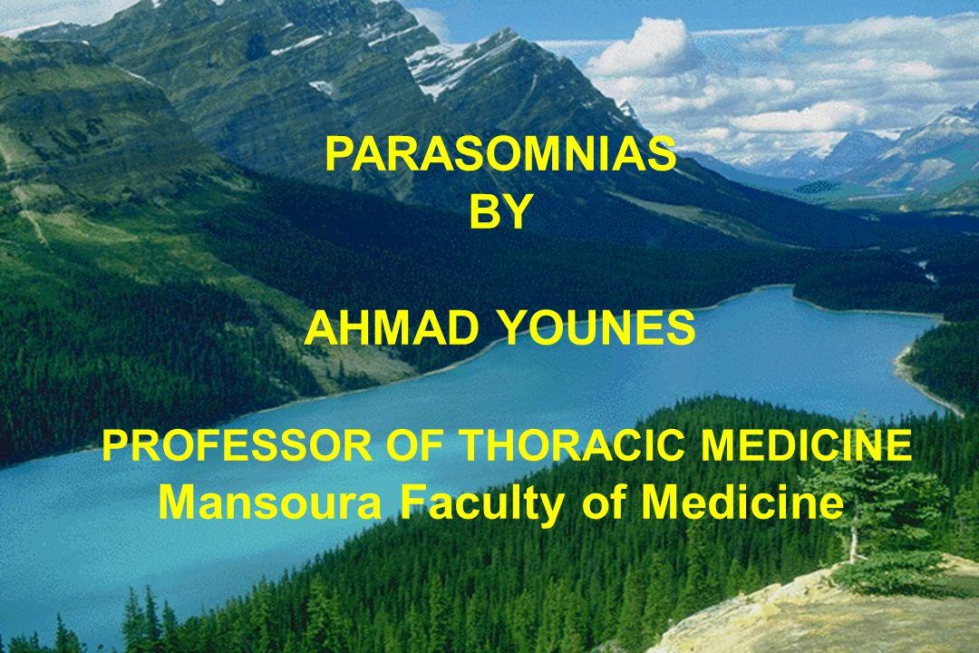 BY AHMAD YOUNES PROFESSOR OF THORACIC MEDICINE
