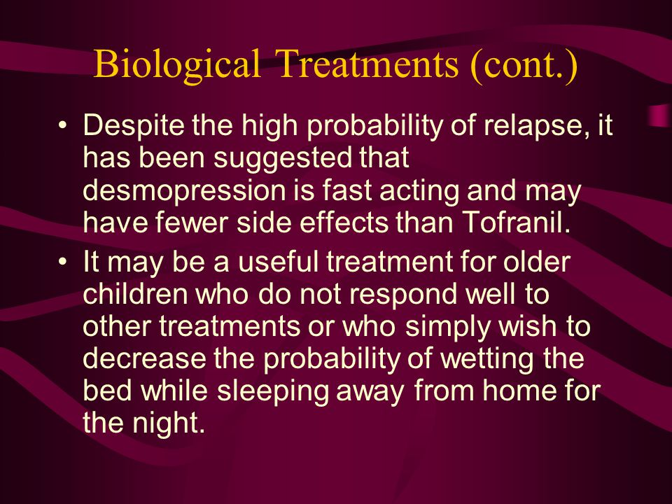 Biological Treatments (cont.)