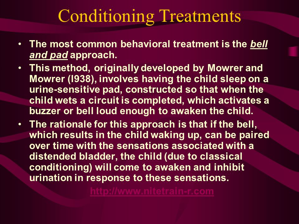 Conditioning Treatments