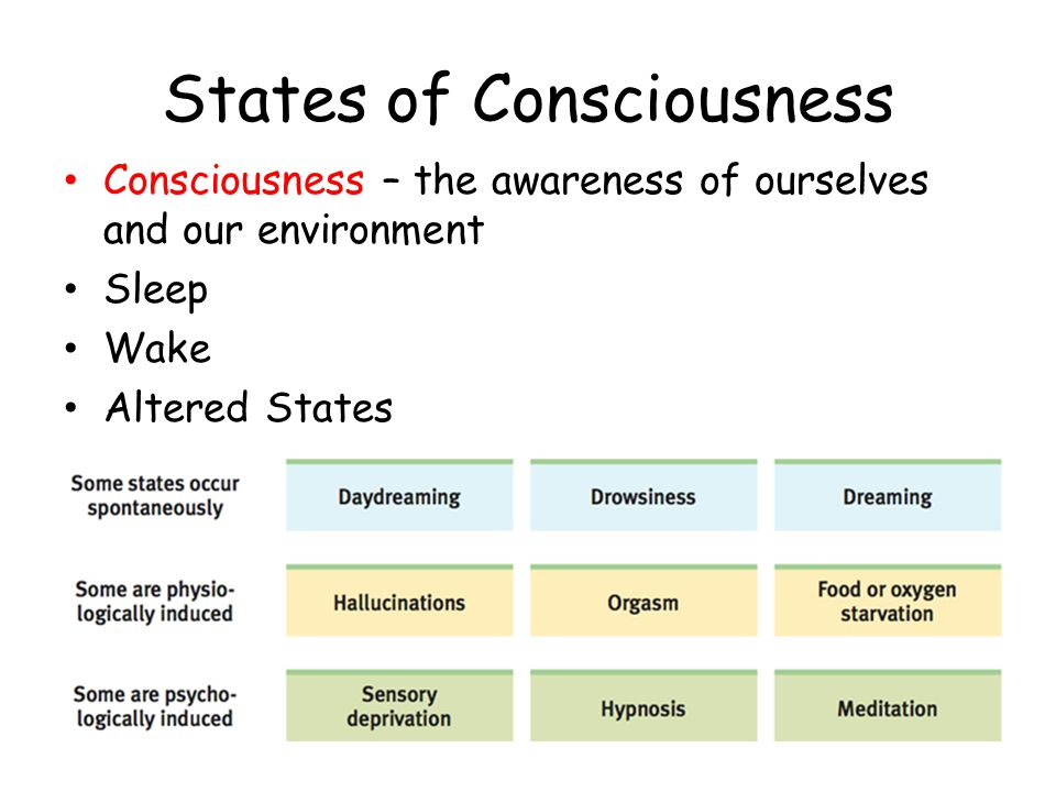 an altered state of consciousness paper Other times people are in another or altered state of consciousness states of consciousness - ghost writing essays would you like to get such a paper.