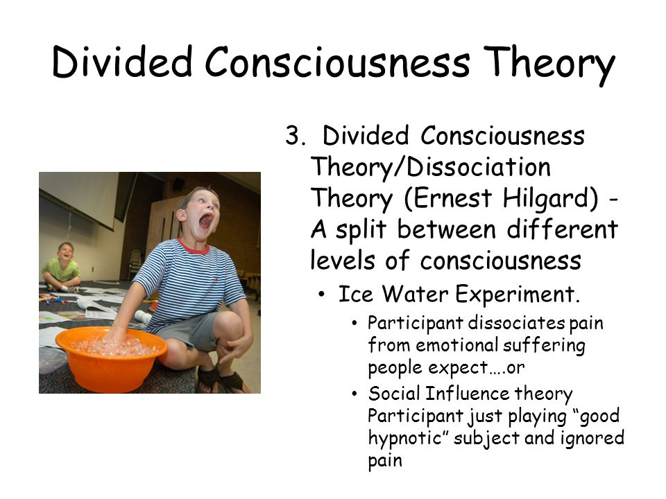 Divided Consciousness Theory