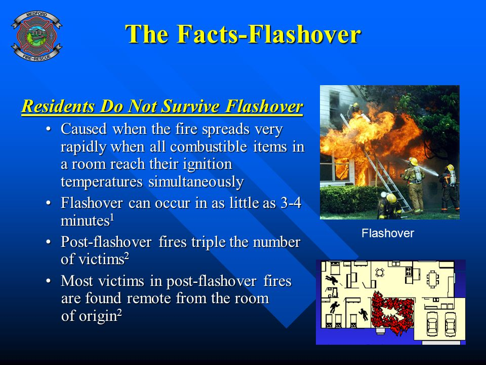 The Facts-Flashover Residents Do Not Survive Flashover