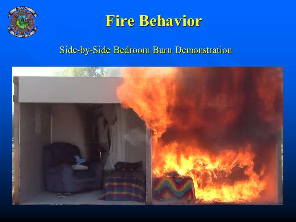 Side-by-Side Bedroom Burn Demonstration