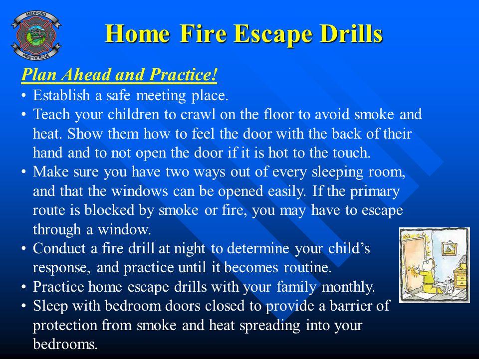 Home Fire Escape Drills