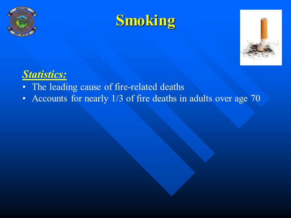 Smoking Statistics: The leading cause of fire-related deaths