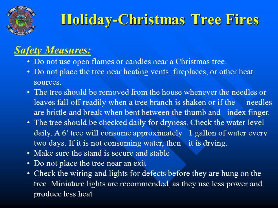 Holiday-Christmas Tree Fires