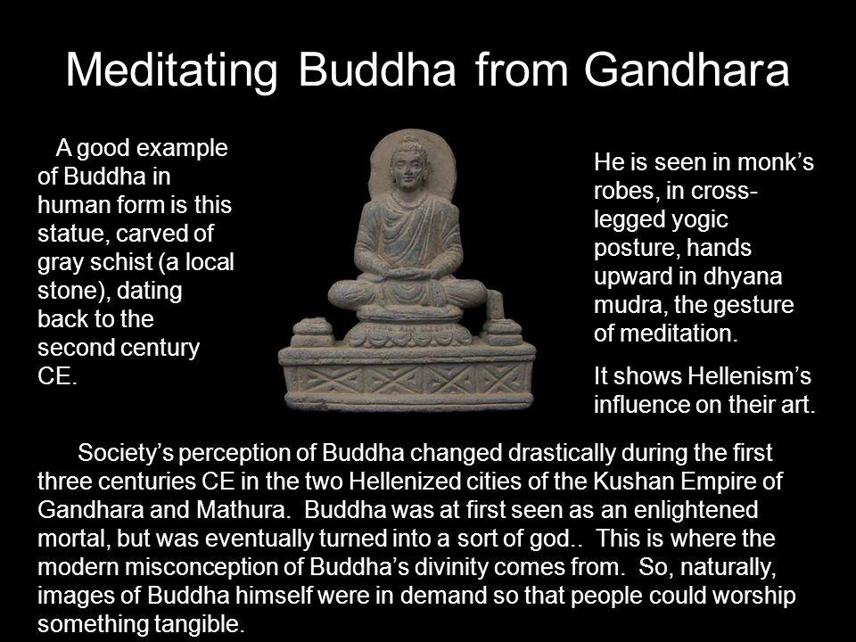 Meditating Buddha from Gandhara