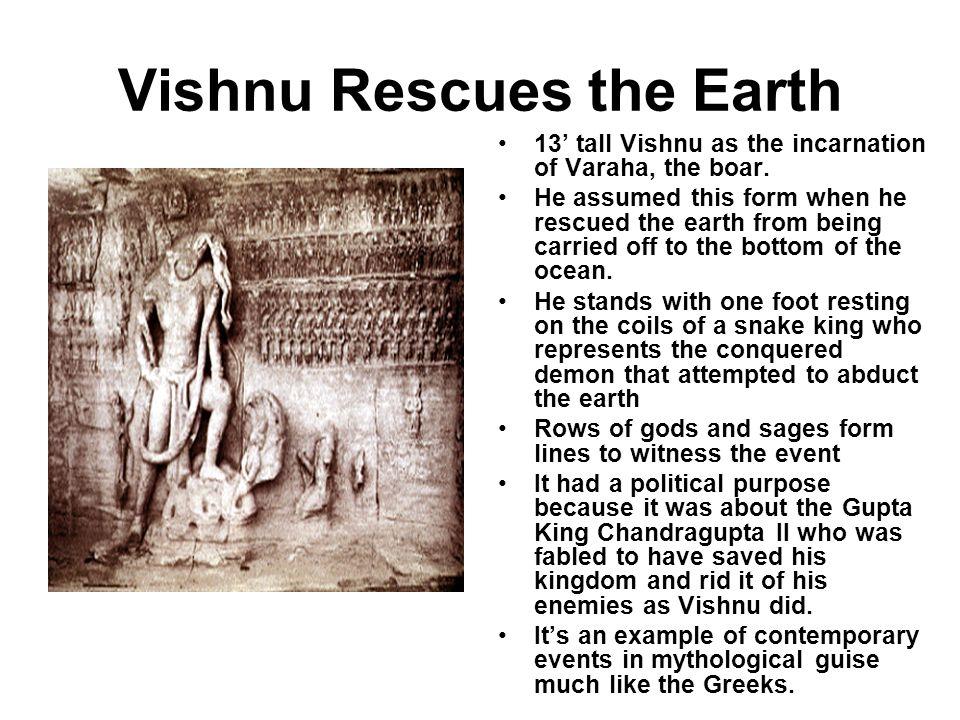 Vishnu Rescues the Earth