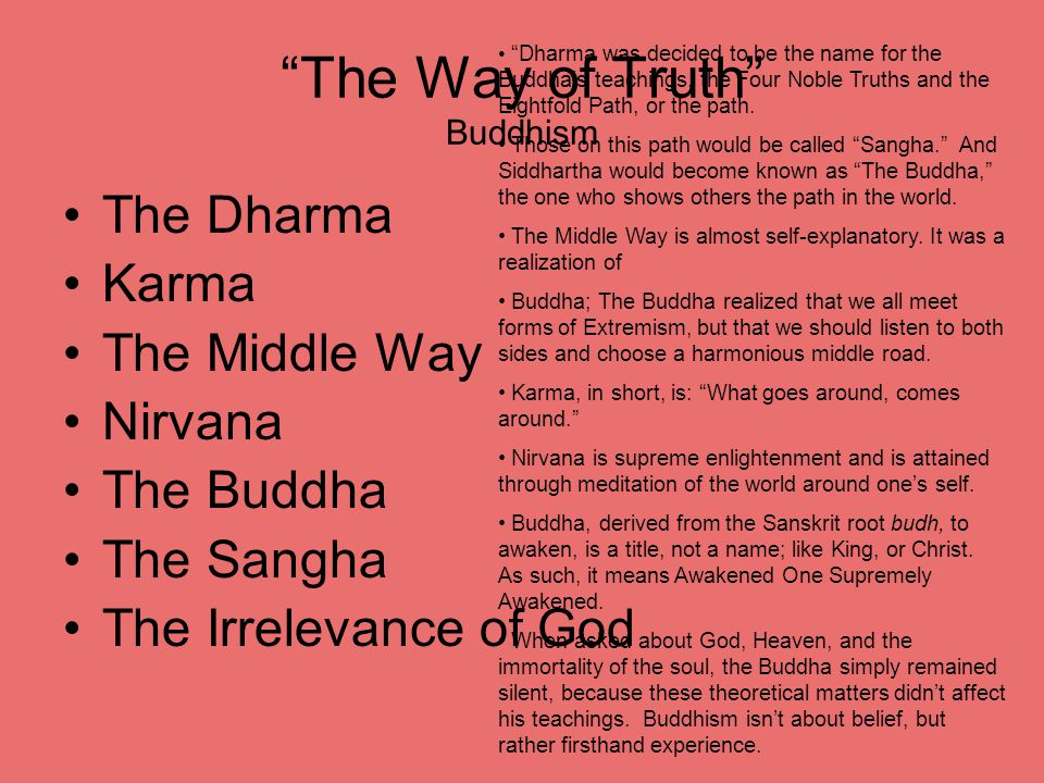 The Way of Truth Buddhism