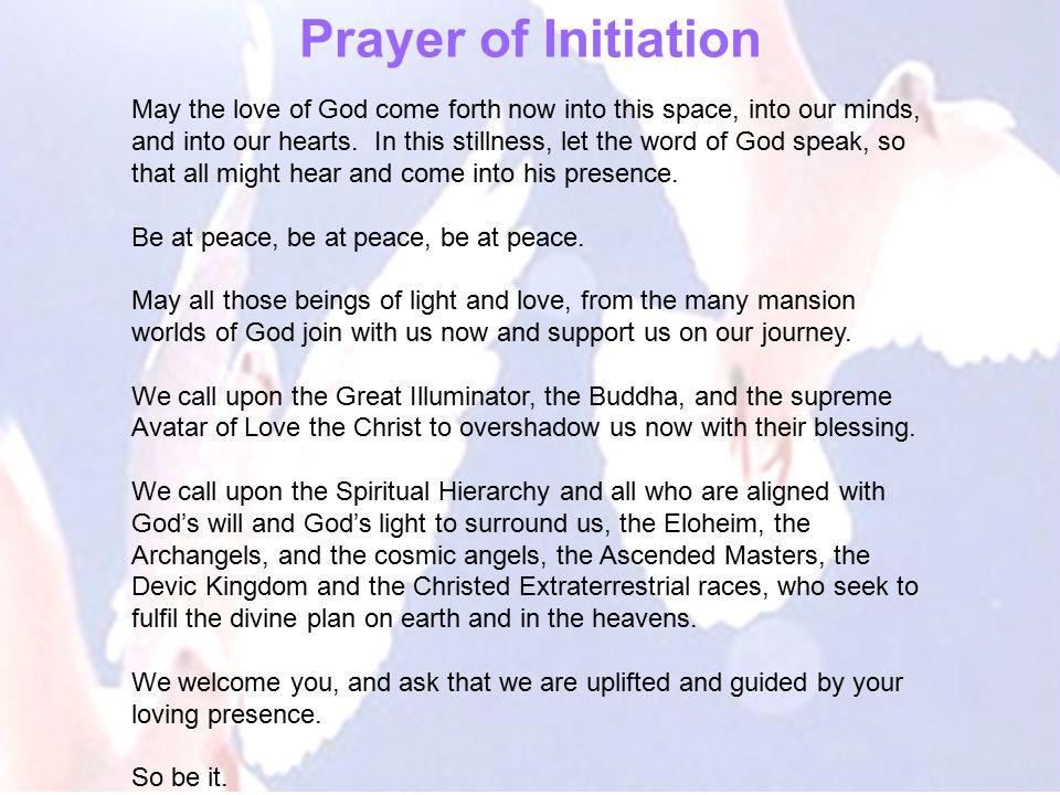 Prayer of Initiation