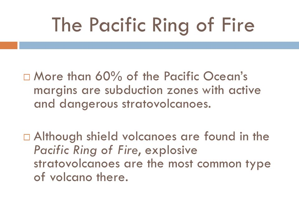 The Pacific Ring of Fire
