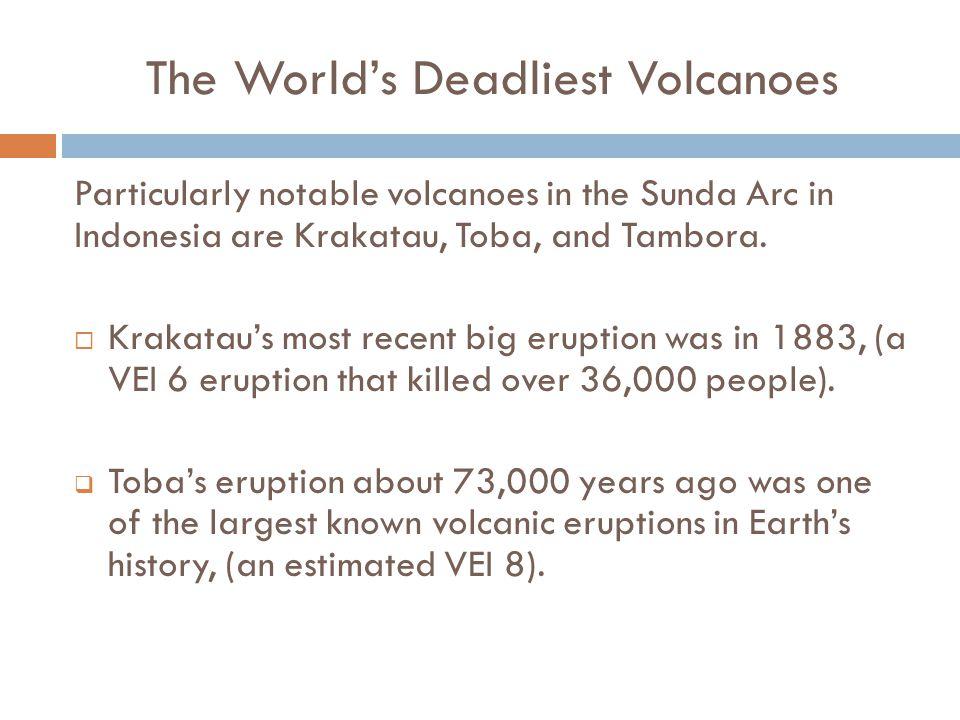 The World's Deadliest Volcanoes