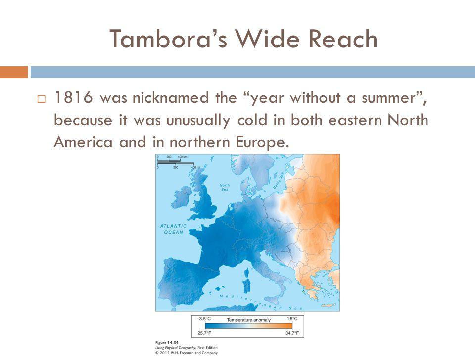 Tambora's Wide Reach