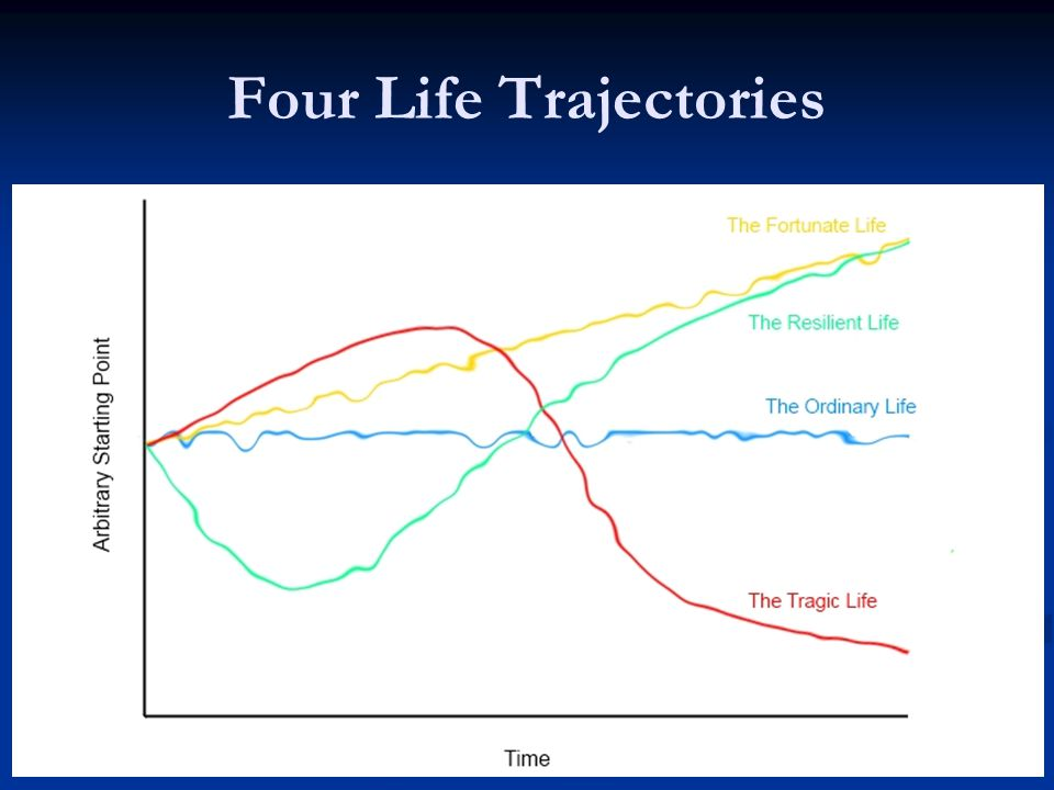 Four Life Trajectories