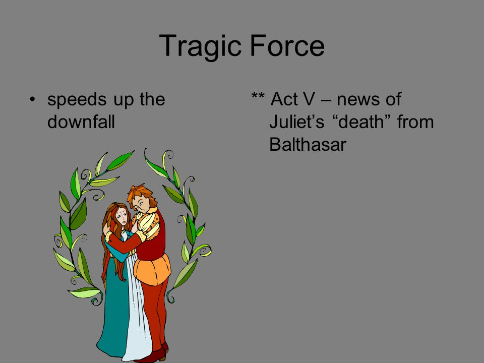 Tragic Force speeds up the downfall