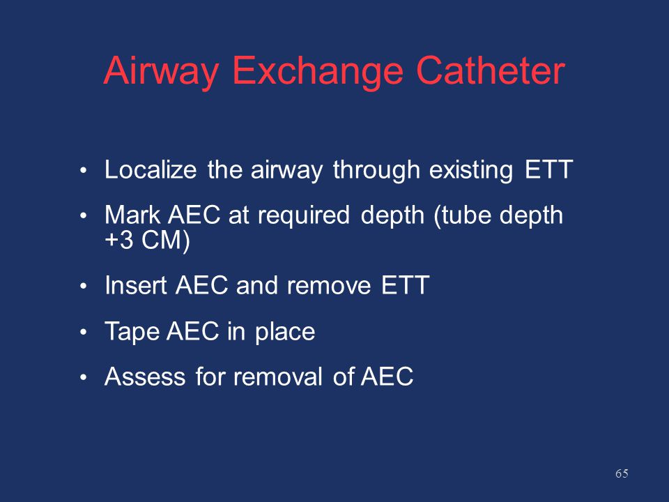 Airway Exchange Catheter