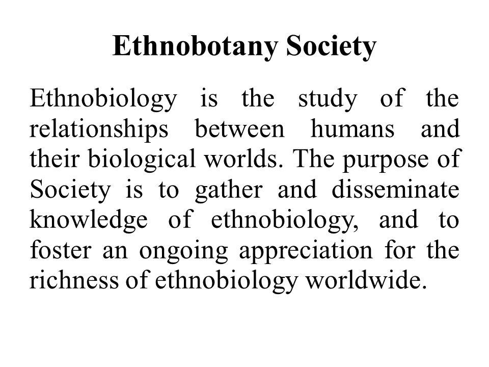 Ethnobotany Society