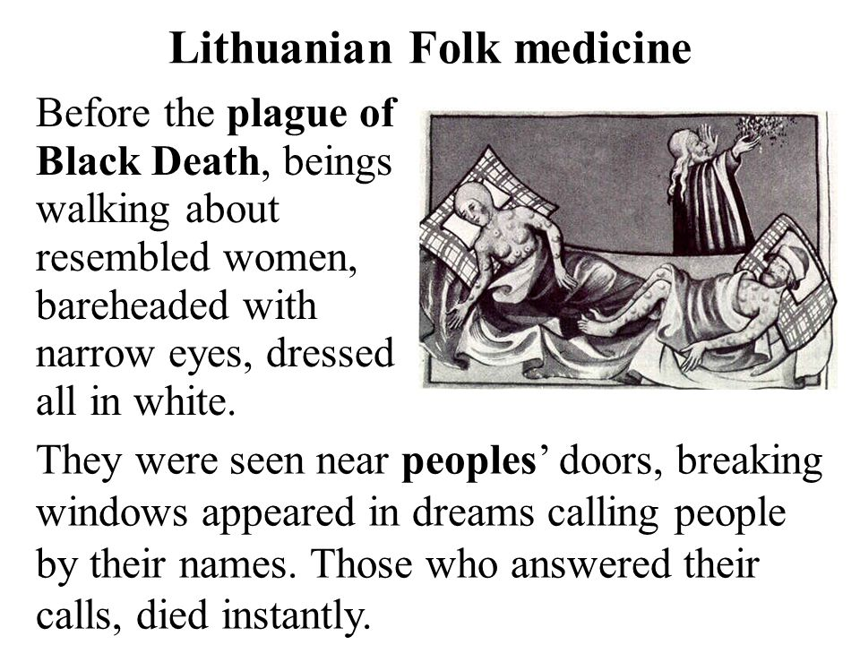 Lithuanian Folk medicine