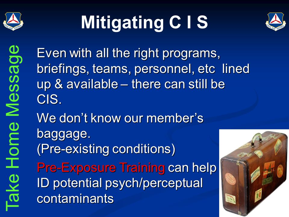 Learning Lab DO09: CISM for Command Staff & ICs