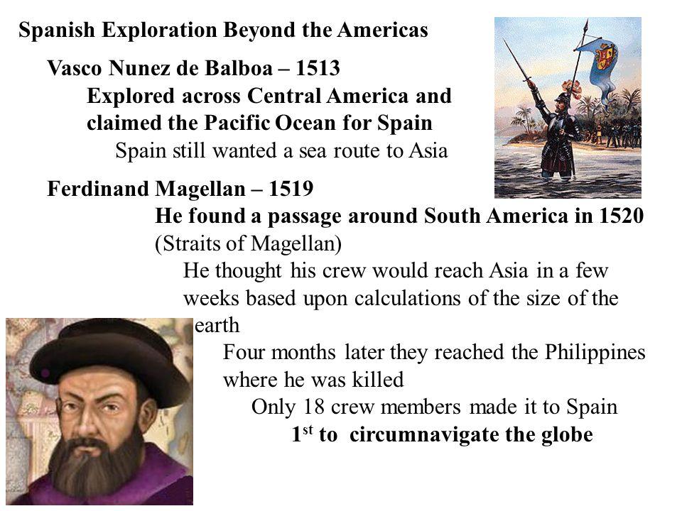 Spanish Exploration Beyond the Americas