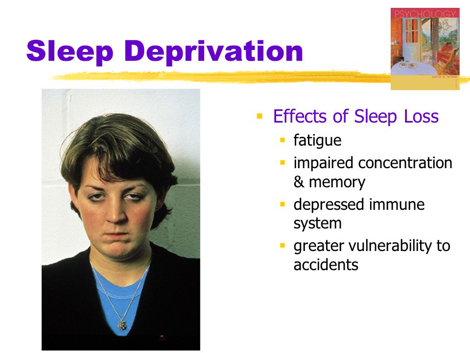 Sleep Deprivation Effects of Sleep Loss fatigue