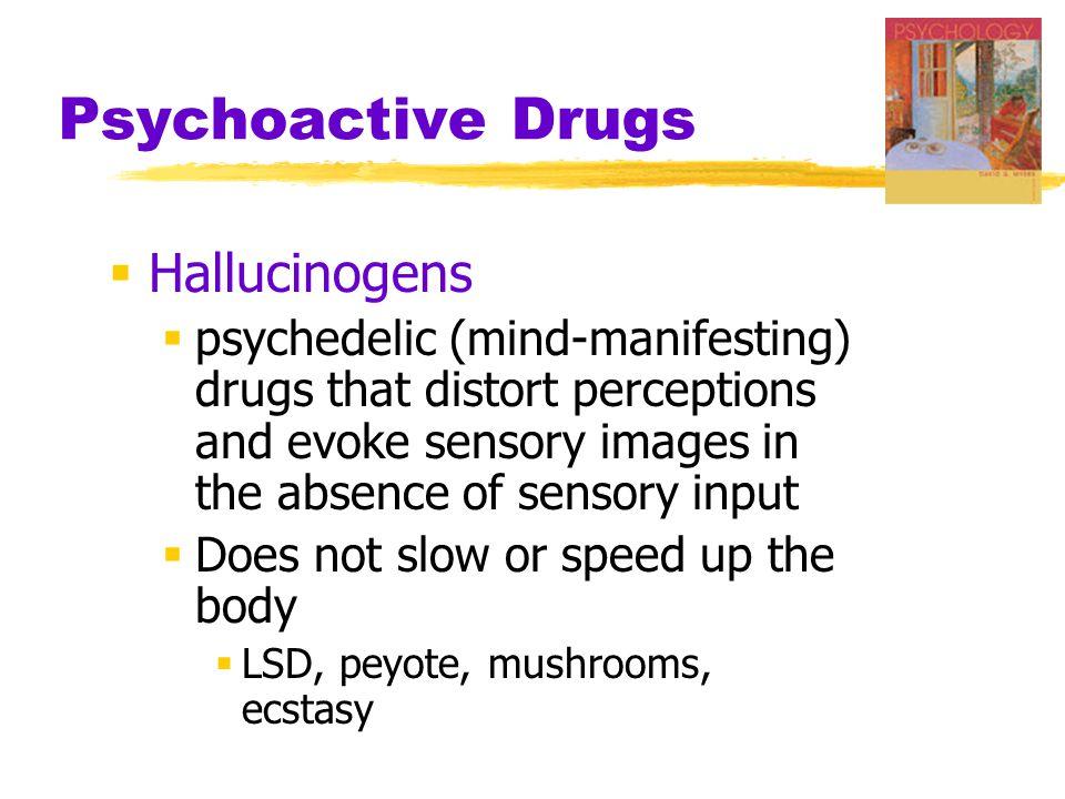 Psychoactive Drugs Hallucinogens