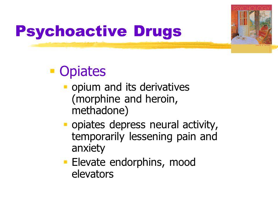 Psychoactive Drugs Opiates