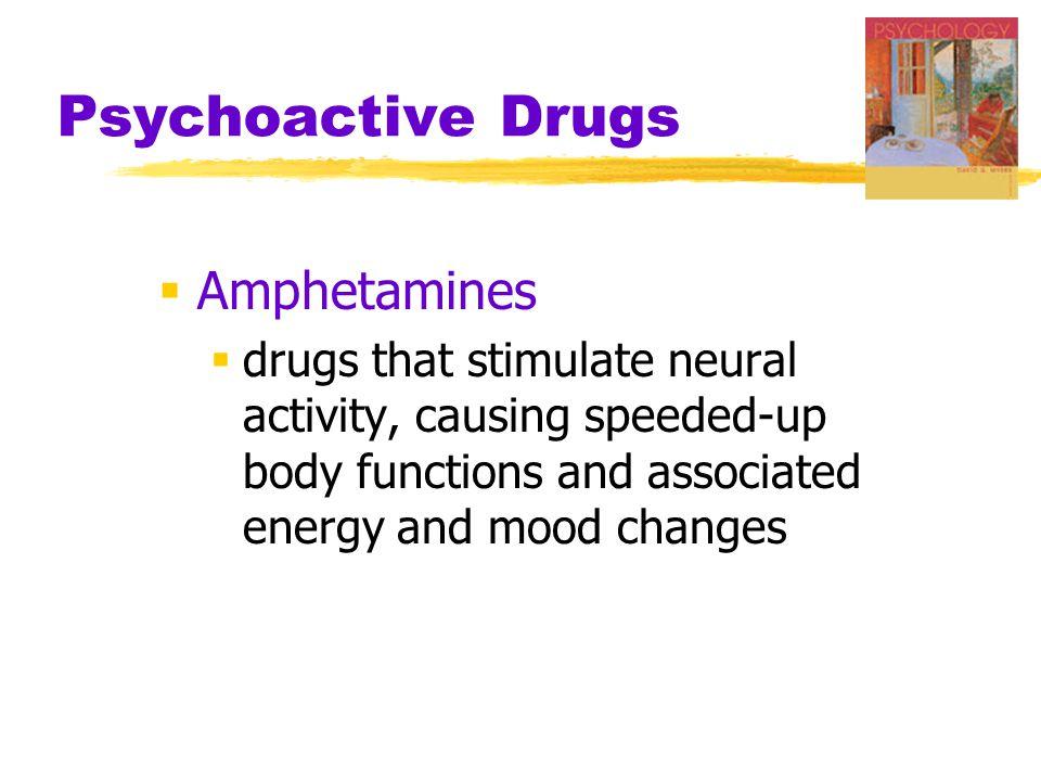 Psychoactive Drugs Amphetamines