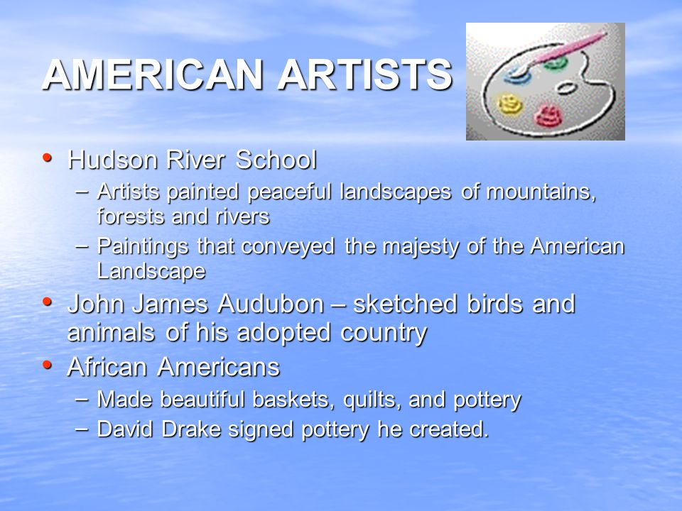 AMERICAN ARTISTS Hudson River School
