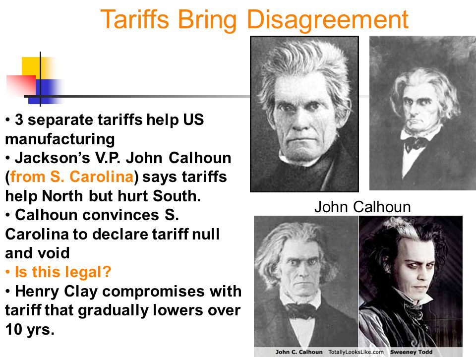 Tariffs Bring Disagreement