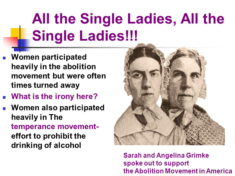 All the Single Ladies, All the Single Ladies!!!